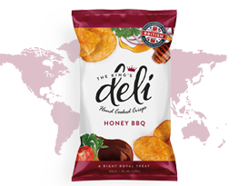 Deli Crisps - honey BBQ