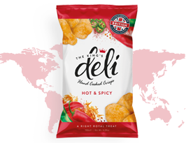 Deli Crisps - Hot and Spicy