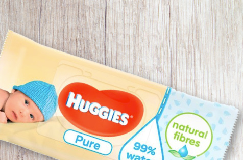 Huggues Pure Nappies