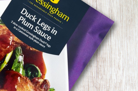 Gressingham Duck Legs in Plum Sauce