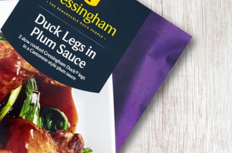 Gressingham Duck Legs in Plum Sauce