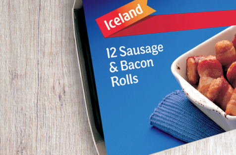 Iceland Sausage & Bacon Rolls