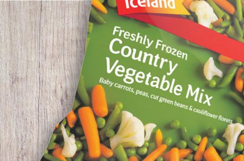 Iceland Frozen Vegetable Mix
