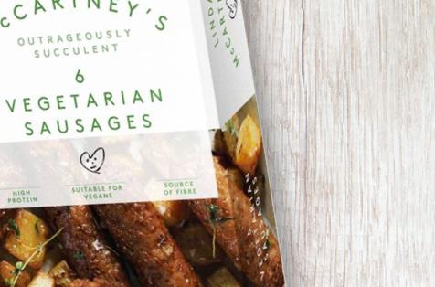 Lina McCartney's Vegetarian Sausages