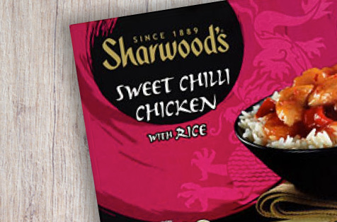 Sharwood's Sweet Chilli Chicken With Rice