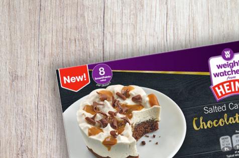 Weight Watchers Salted Caramel Chocolate Cheesecake