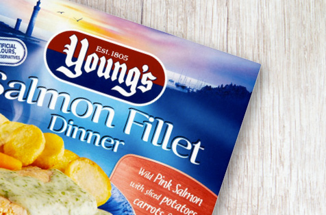 Young's Salmon Fillet Dinner