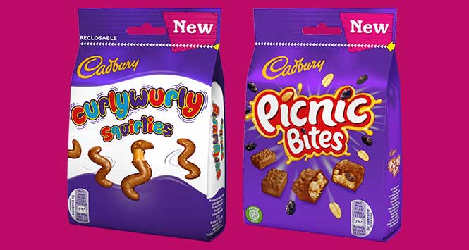 Products of the month: Cadbury Curly Wurly Squirlies and Picnic Bites
