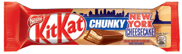 Product of the month: KitKat Chunky New York Cheesecake