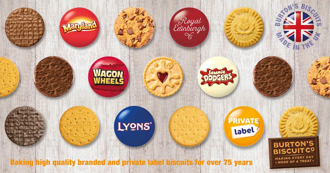 Smylies love the Burton's Biscuits range!