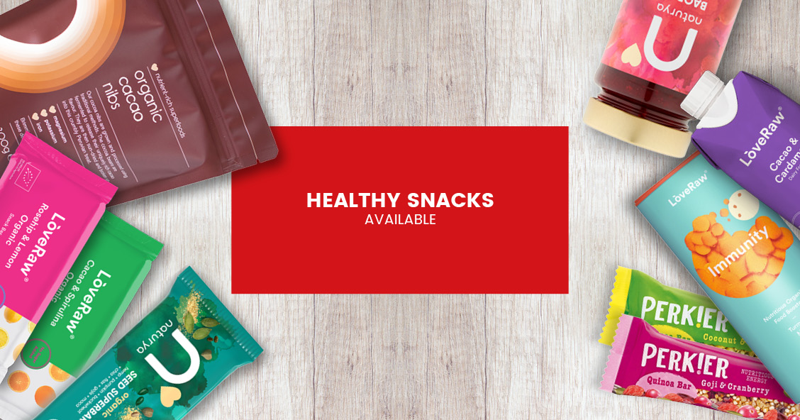 Healthy Snacks availble for export with Smylies
