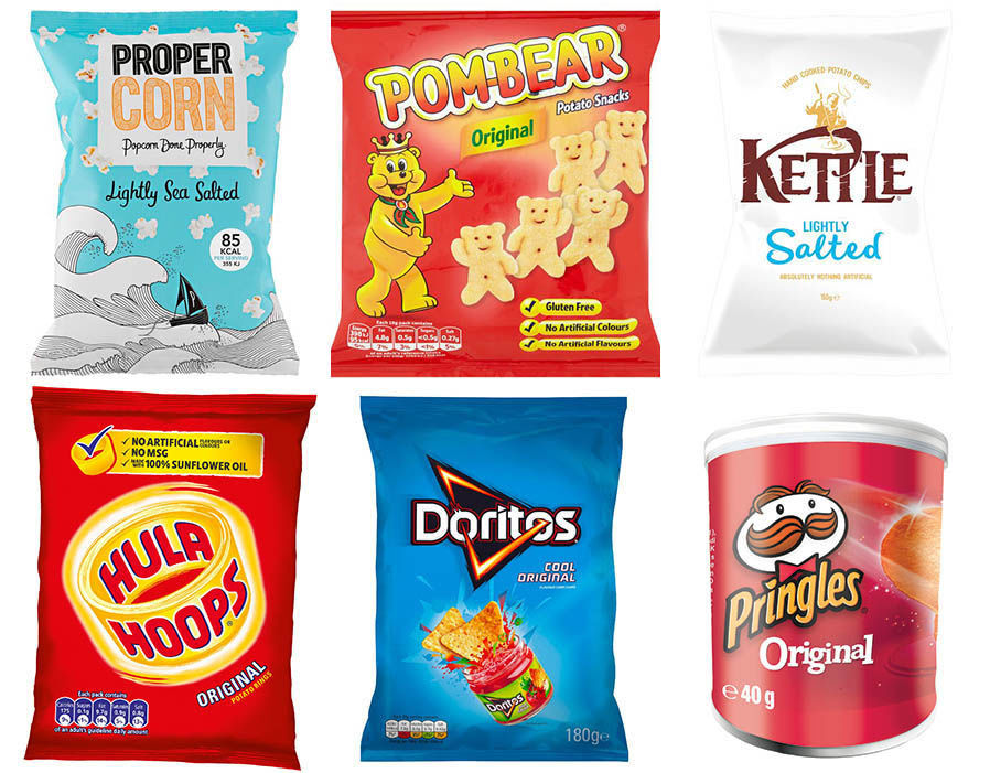 Snacks available for Export