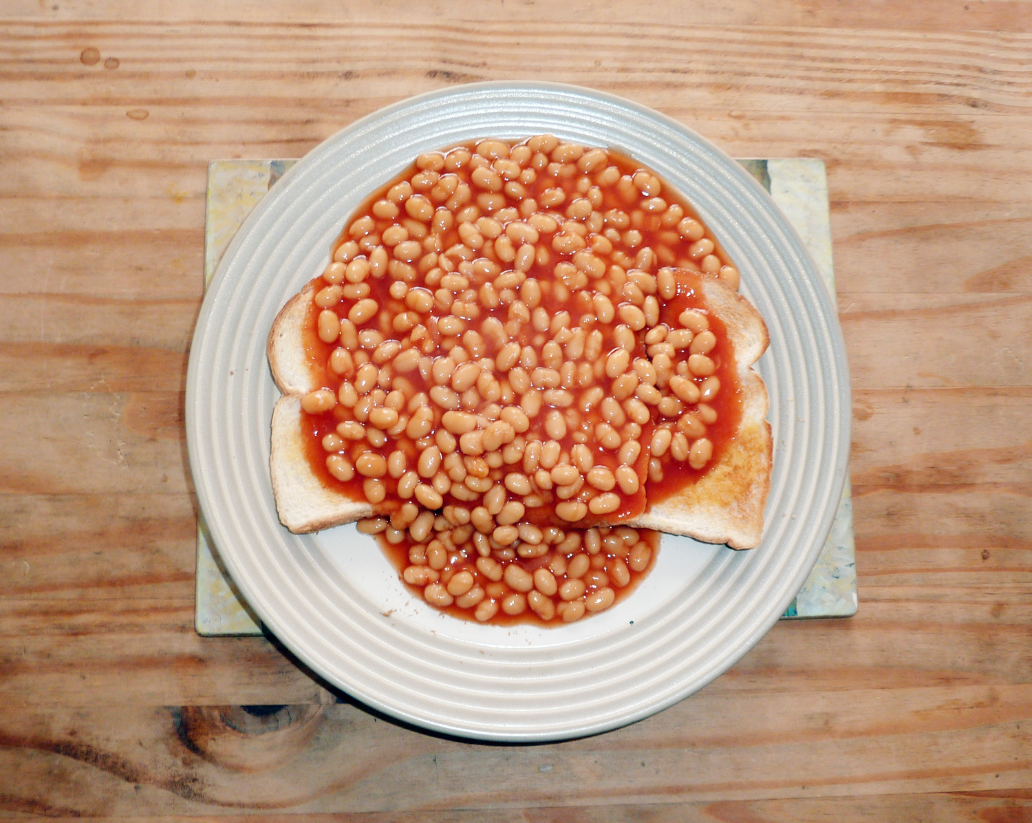 Brits cannot live without baked beans and crumpets!
