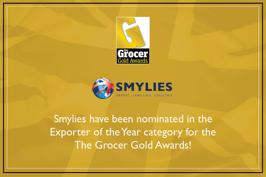 Smylies have been nominated for Exporter of the Year at The Grocer Gold Awards!