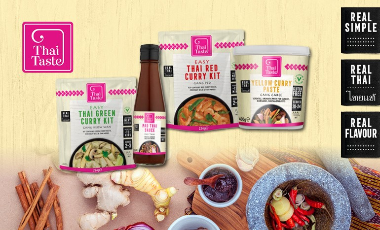 Capture Thailand origins in your dishes with Thai Taste!