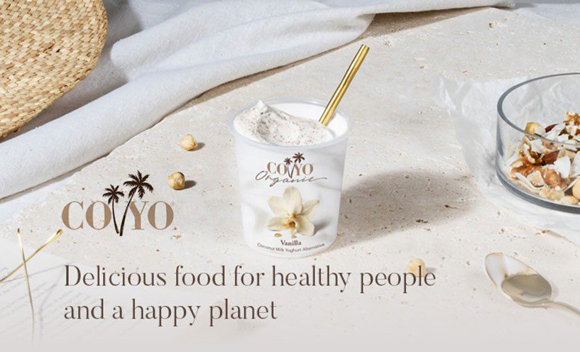Coconut filled, dairy-free produce from COYO