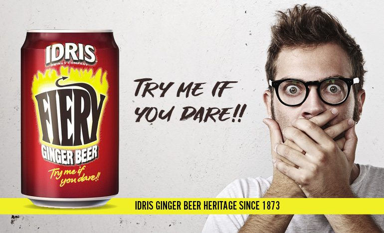 Smylies partner with Britvic to deliver fiery fizzy drink, Idris!