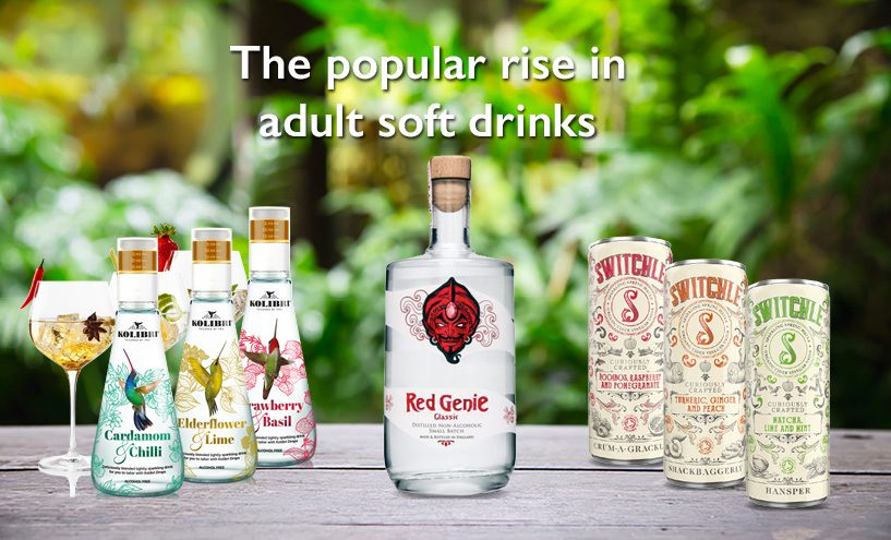 Adult Soft Drinks Are Growing in Popularity