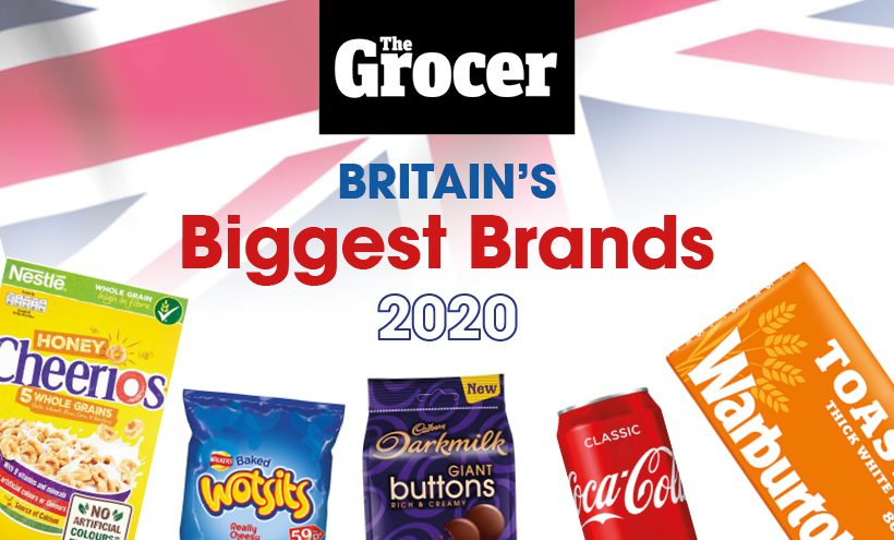Britain's top 100 brands for 2020
