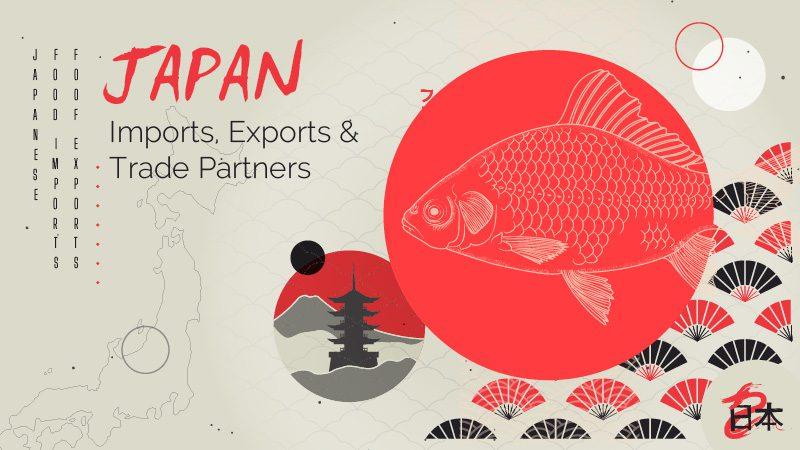 Japan – Imports, Exports & Trade Partners