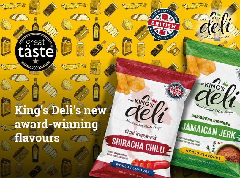 New King's Deli World Flavours Win Great Taste Awards